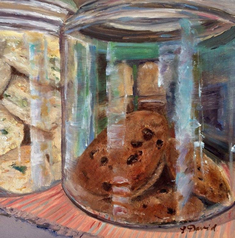 Lisa David Chocolate chip cookie
