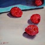 Lisa David Red Raspberries