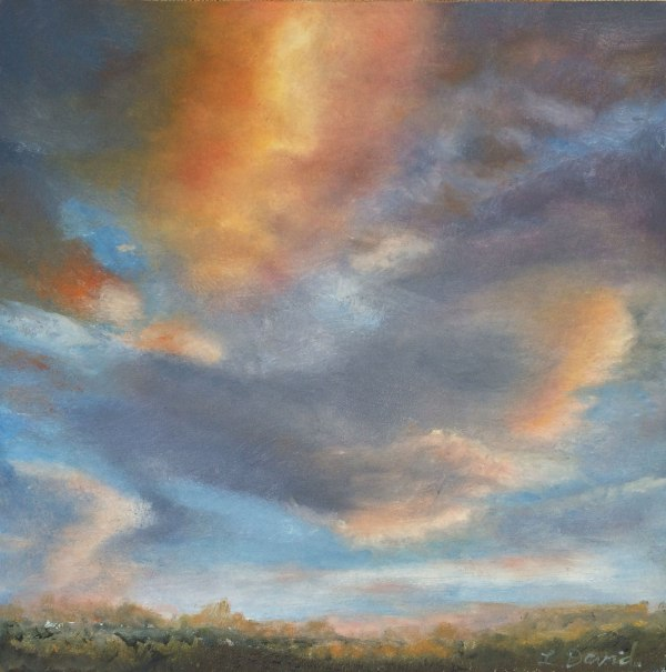 Clouds, lisa david daily painter