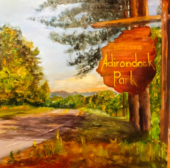 ADK sign