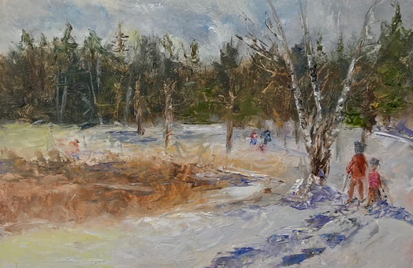 Plein Air Painting by artist Lisa David