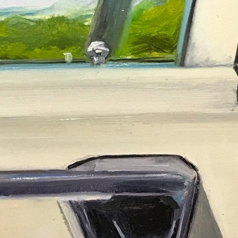 Detail of Get In, CTL on rim